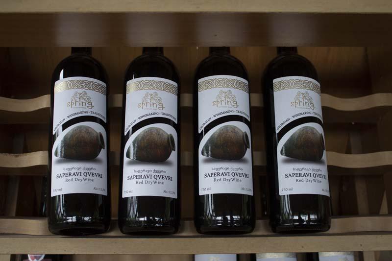 Грузинские вина в квеври