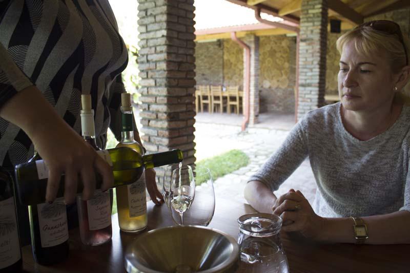 На винодельнях